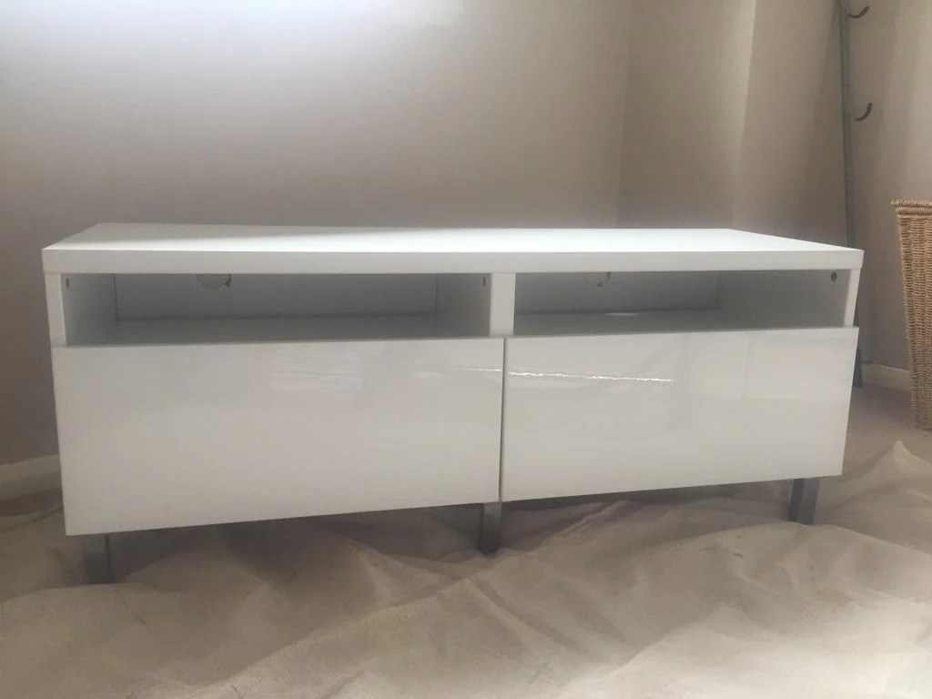 Ikea Tv Sideboard Kudos To The Moody Makeover Of This Popular Ikea Tv Cabinet Hacks
