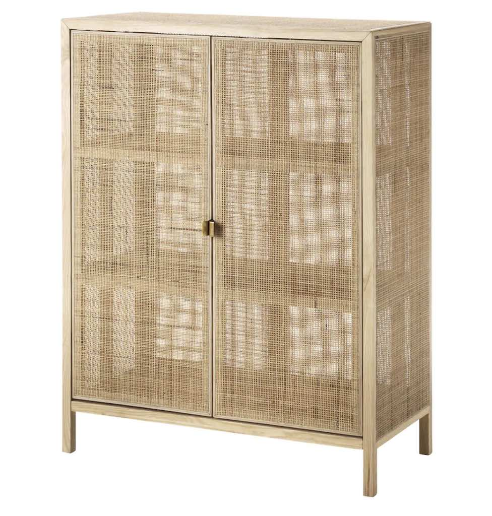Rattan Regal This Billy Celebrates With One Of A Kind Cane Doors Ikea