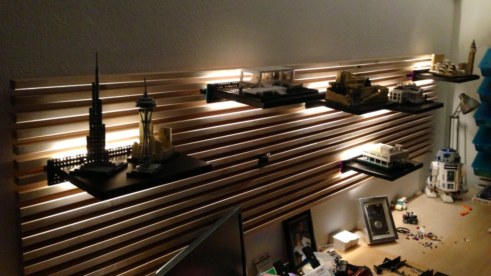 Ikea Mandal Ideas Indirect Lighting For Mandal Headboard Using Lego Ikea Hackers
