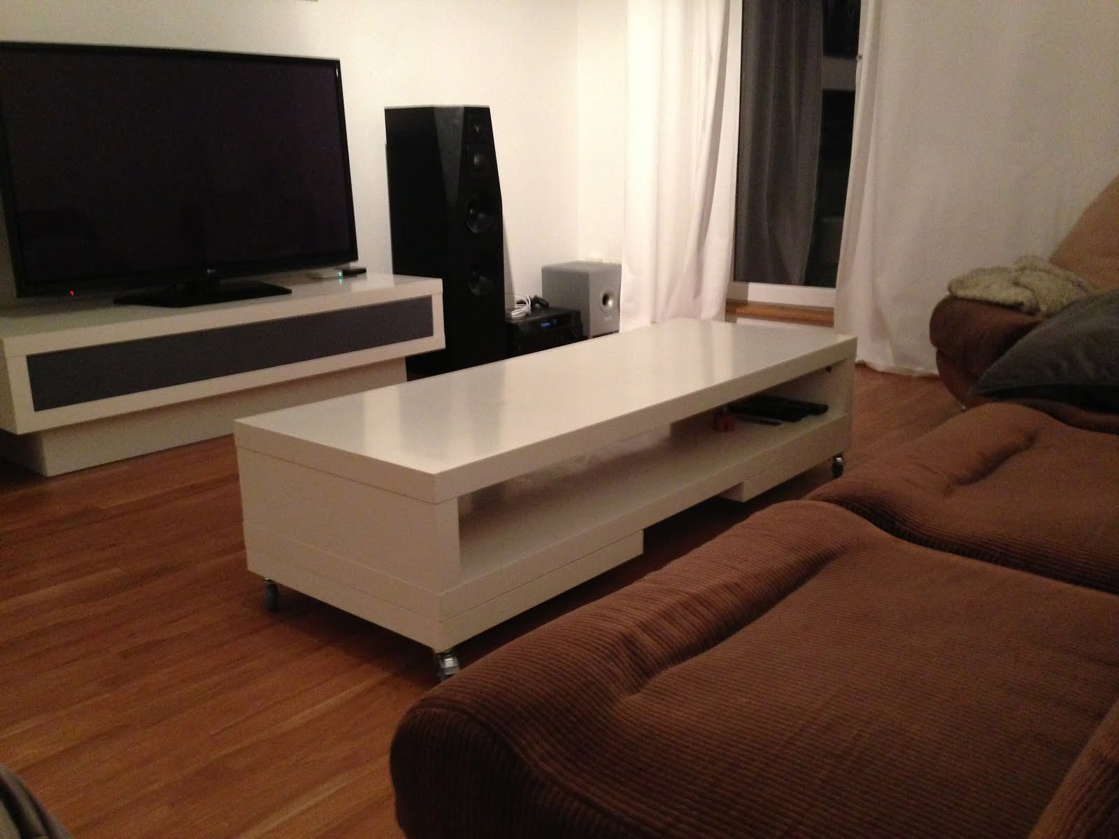 Tables Tv Lack Tv Unit Again Coffee Table Ikea Hackers