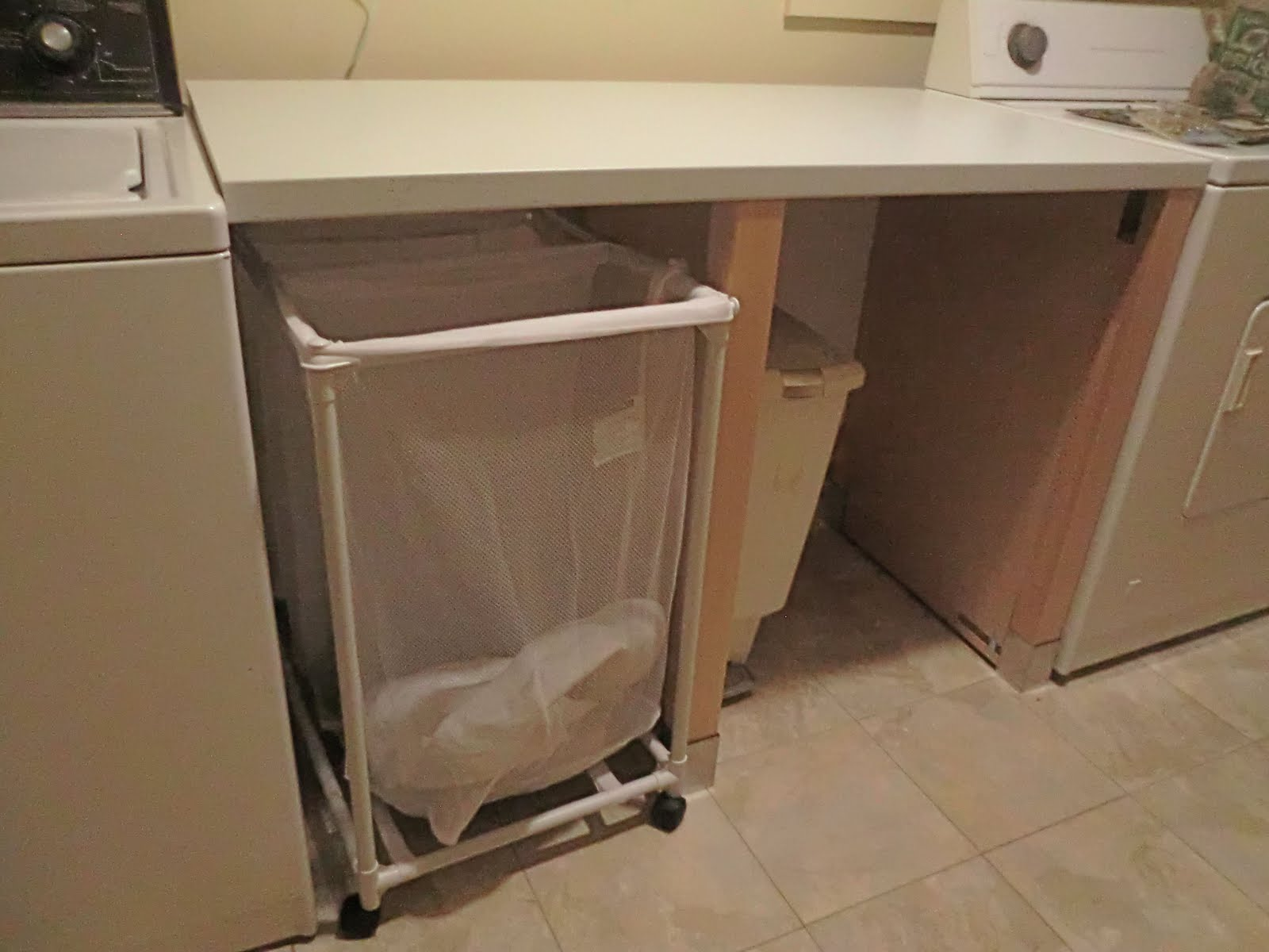 Pragel Countertop Laundry Folding Station Out Of A Dishwasher Cabinet Ikea Hackers