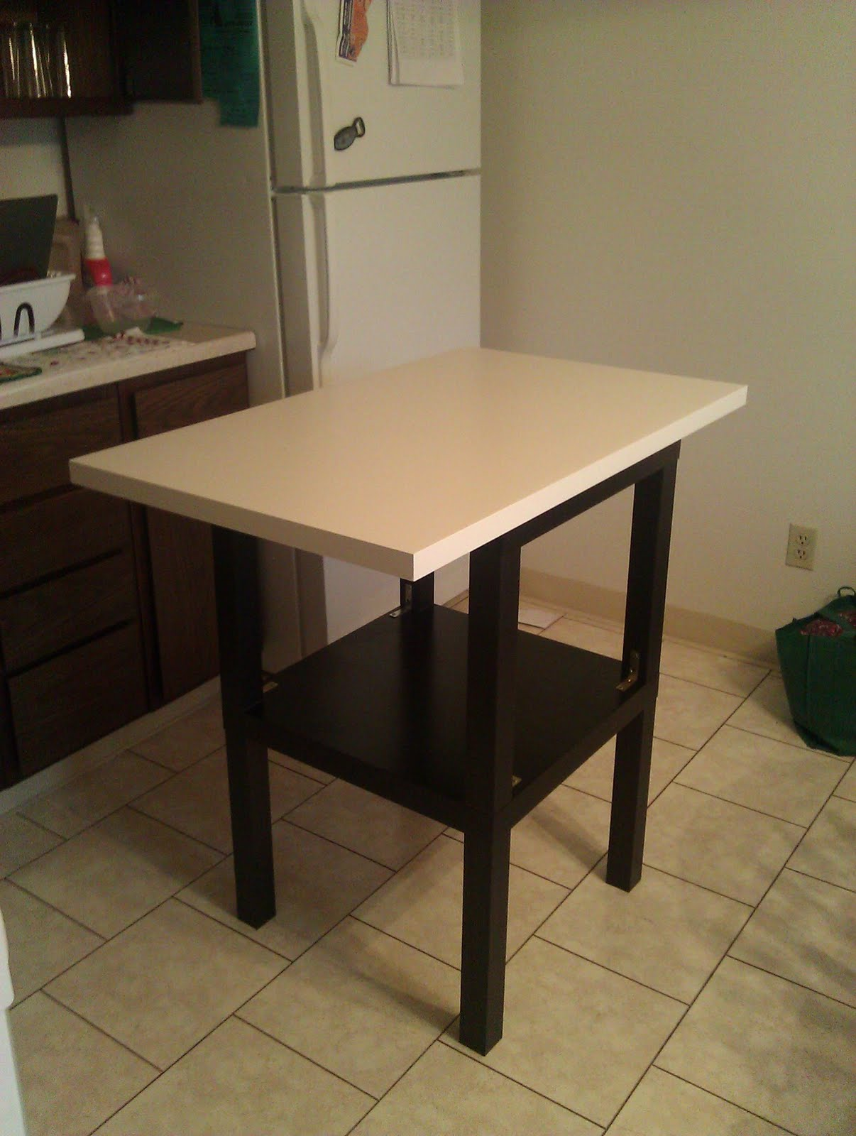 Cheap Kitchen Island With Stools Cheap Lack Kitchen Island Ikea Hackers