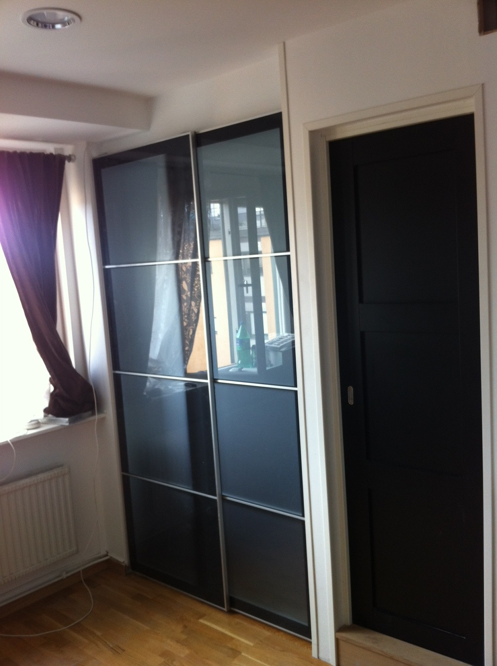Ikea Pax Hack Ikea Sliding Door For Sleeping Alcove Tight Spaces - Ikea