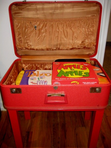 Ikea Lack Expedit Lack Hack: Vintage Suitcase Table - Ikea Hackers