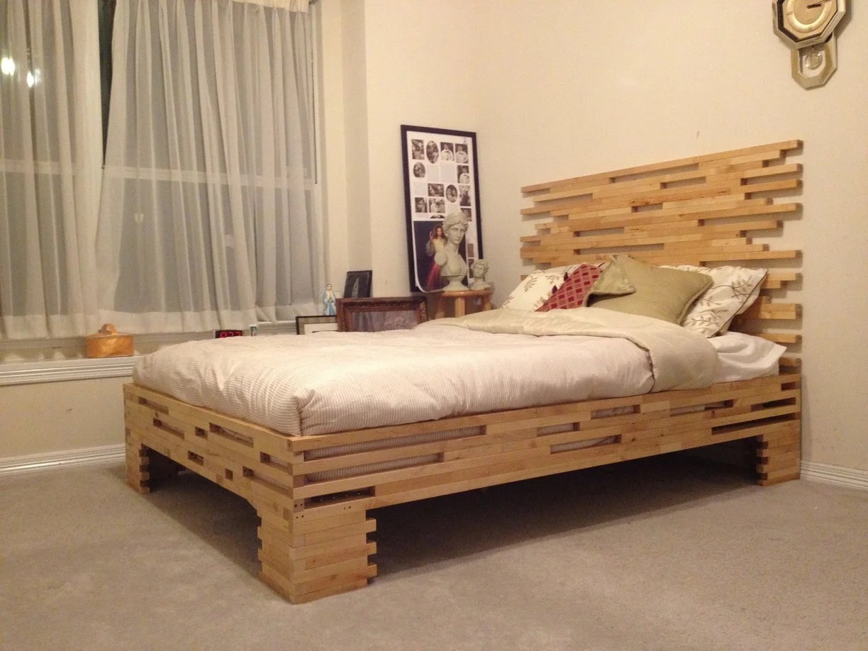 Bed Frame Molger Leg Frame To Bed Frame Ikea Hackers Ikea Hackers