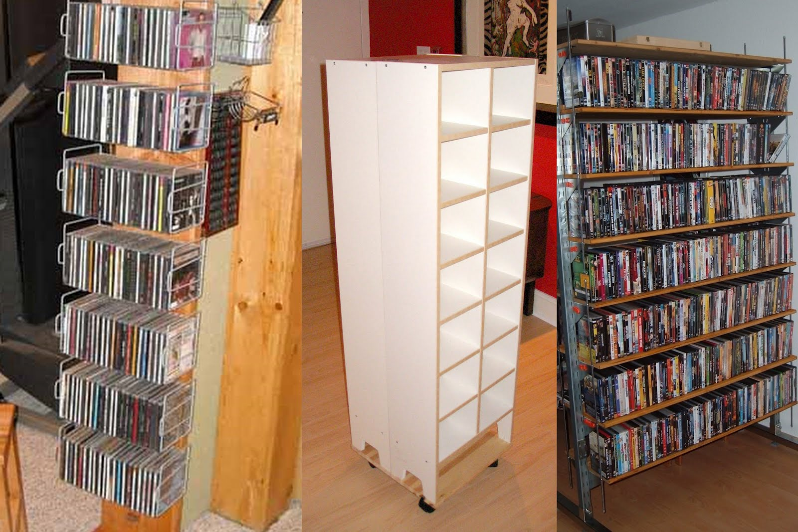 Ikea Kallax Cd Storage Previously On Ikeahackers Tame Your Dvd Collection Ikea Hackers