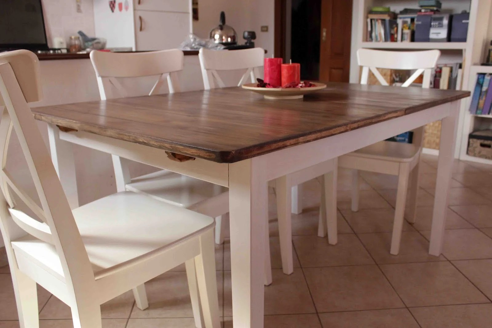 Ikea Dining Table Hack A Country Kitchen Style Dining Table Ikea Hackers
