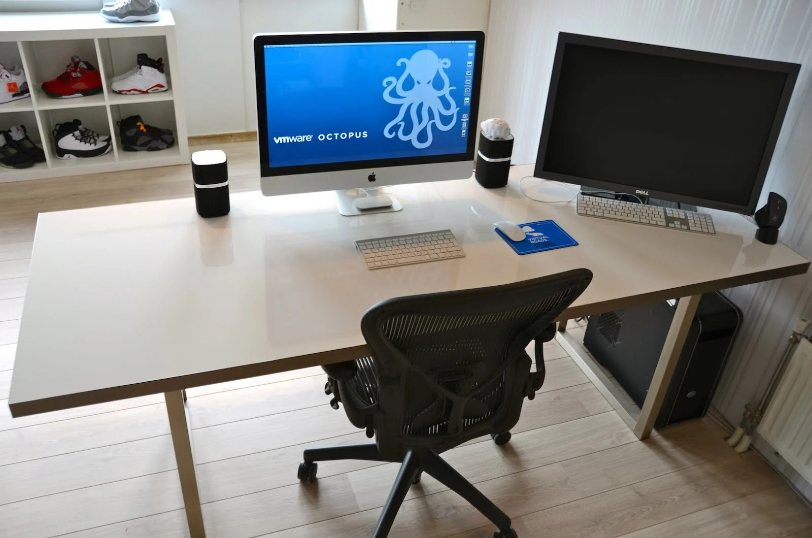 Ikea Desk Top Whiteboard Desk Ikea Hackers