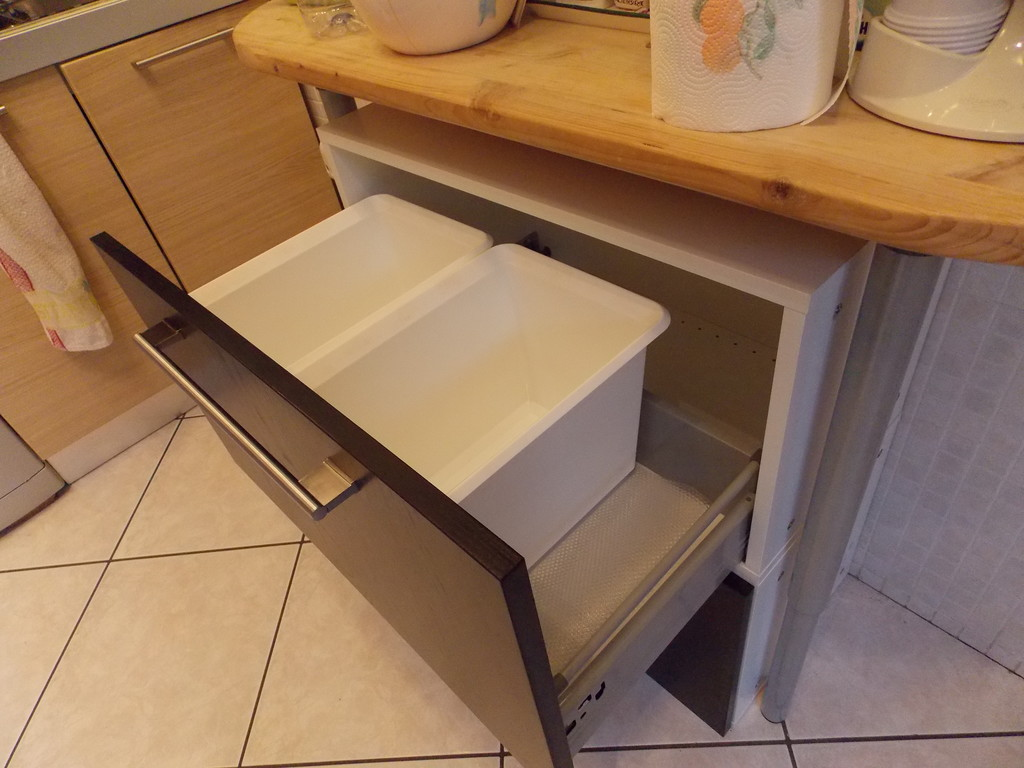 Ikea Kitchen Cabinet Child Locks Kitchen Waste Sorting Cabinet Ikea Hackers Ikea Hackers