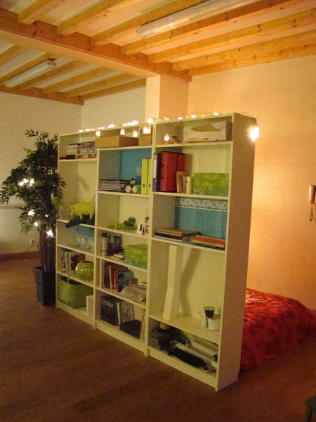 Wall Cubes Ikea Billy Bookcases As Room Dividers - Ikea Hackers
