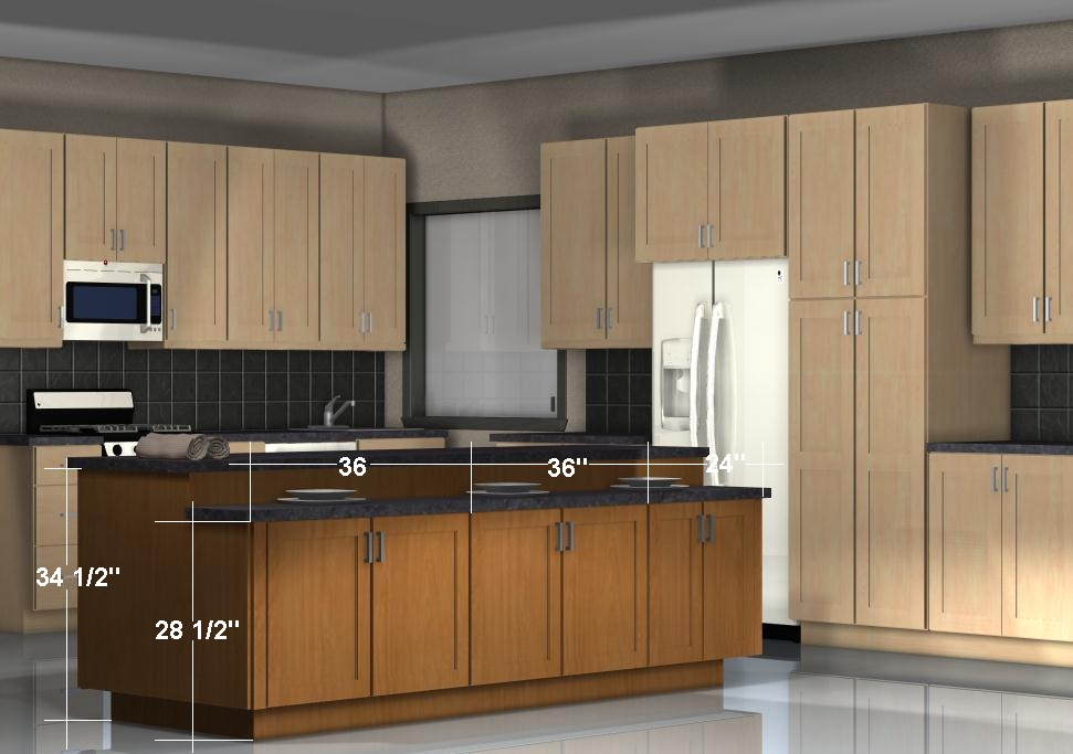 Kitchen Island With Cabinets On Both Sides Kitchen Island Configurations: Storage On Both Sides With