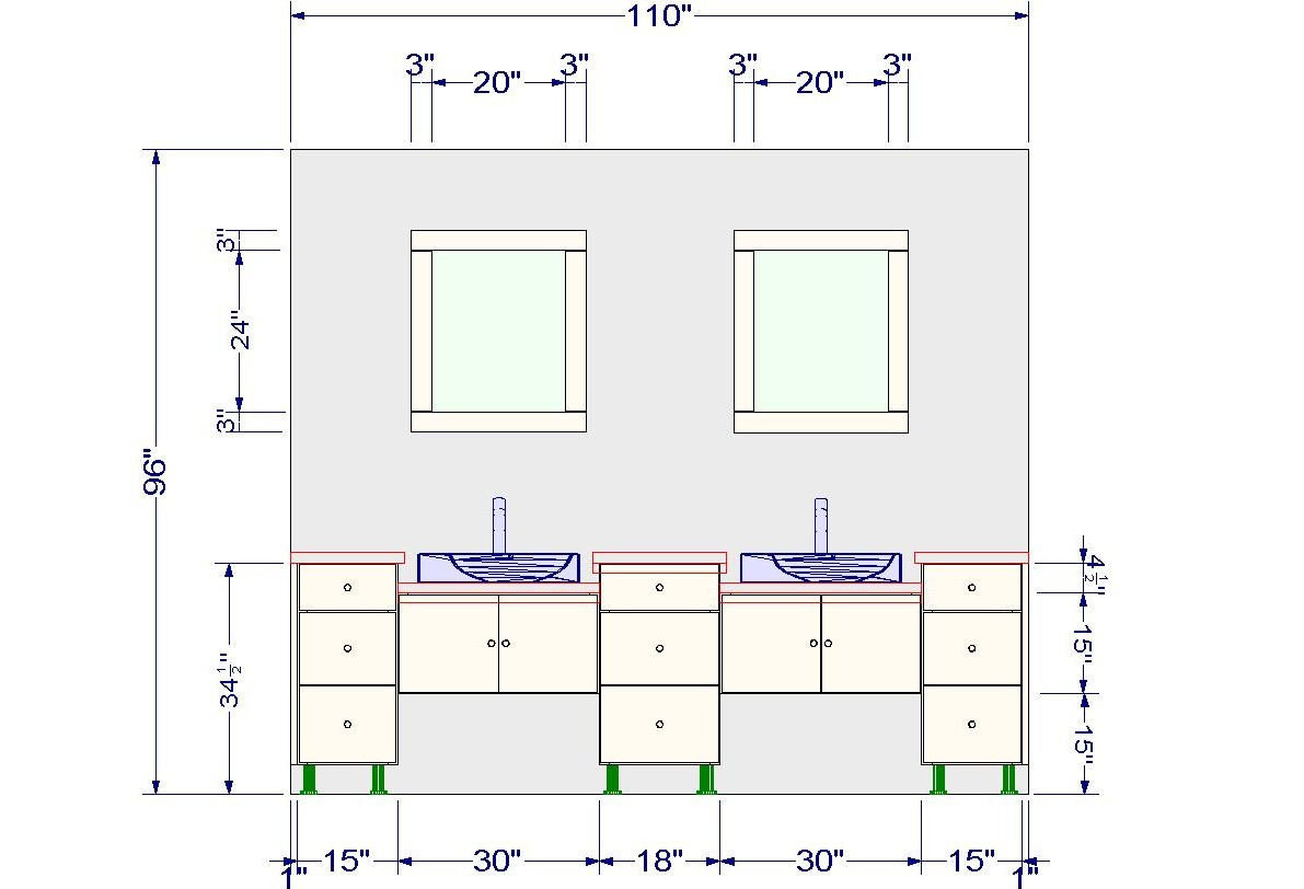 What Is Standard Height For Kitchen Cabinets Ikea Vanities Using Wall Cabinets With Different Heights