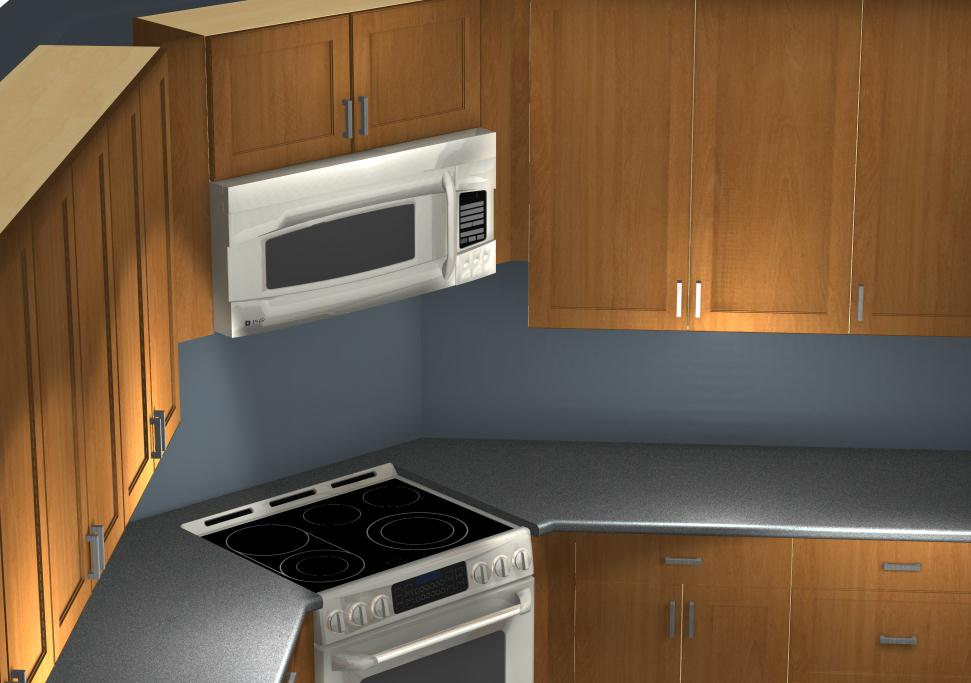 Common Kitchen Design Mistakes Corner Stove And Microwave