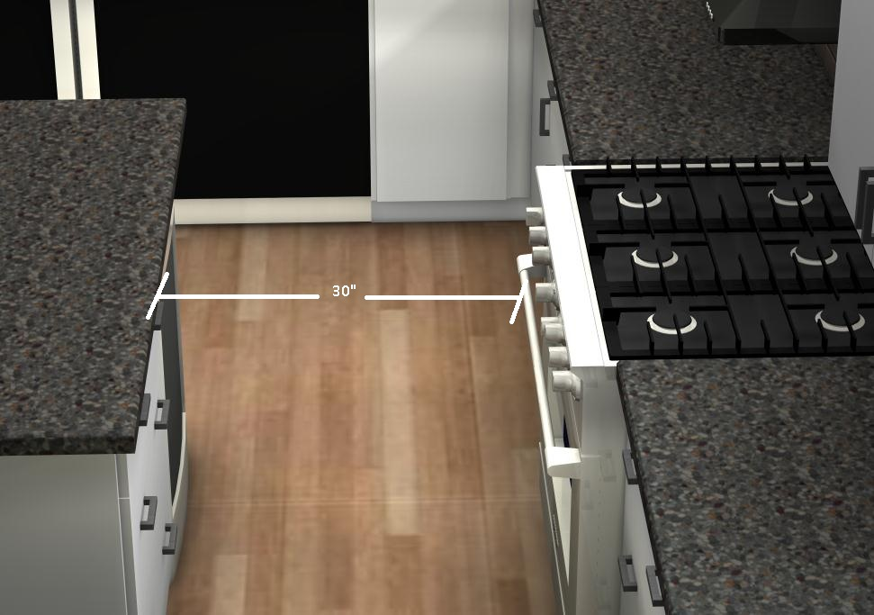 Spacing Between Kitchen Cabinets Common Kitchen Mistakes: How Do I Know What The Ideal