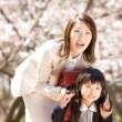 入学式、母親、髪型、アレンジ