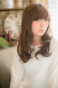秋 髪型 ロング レディース 人気、4