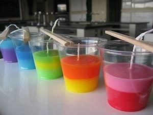 アロマキャンドル 作り方 簡単 かわいい 香水 3