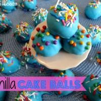 Recipe: Vanilla Cake Balls