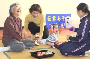 石田野広場(3~4世代で遊びを伝承)