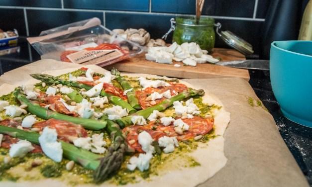 Godaste pizzan får du med en kalljäst pizzadeg
