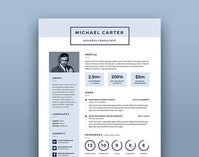 Creative Resume Templates - wwwikonome