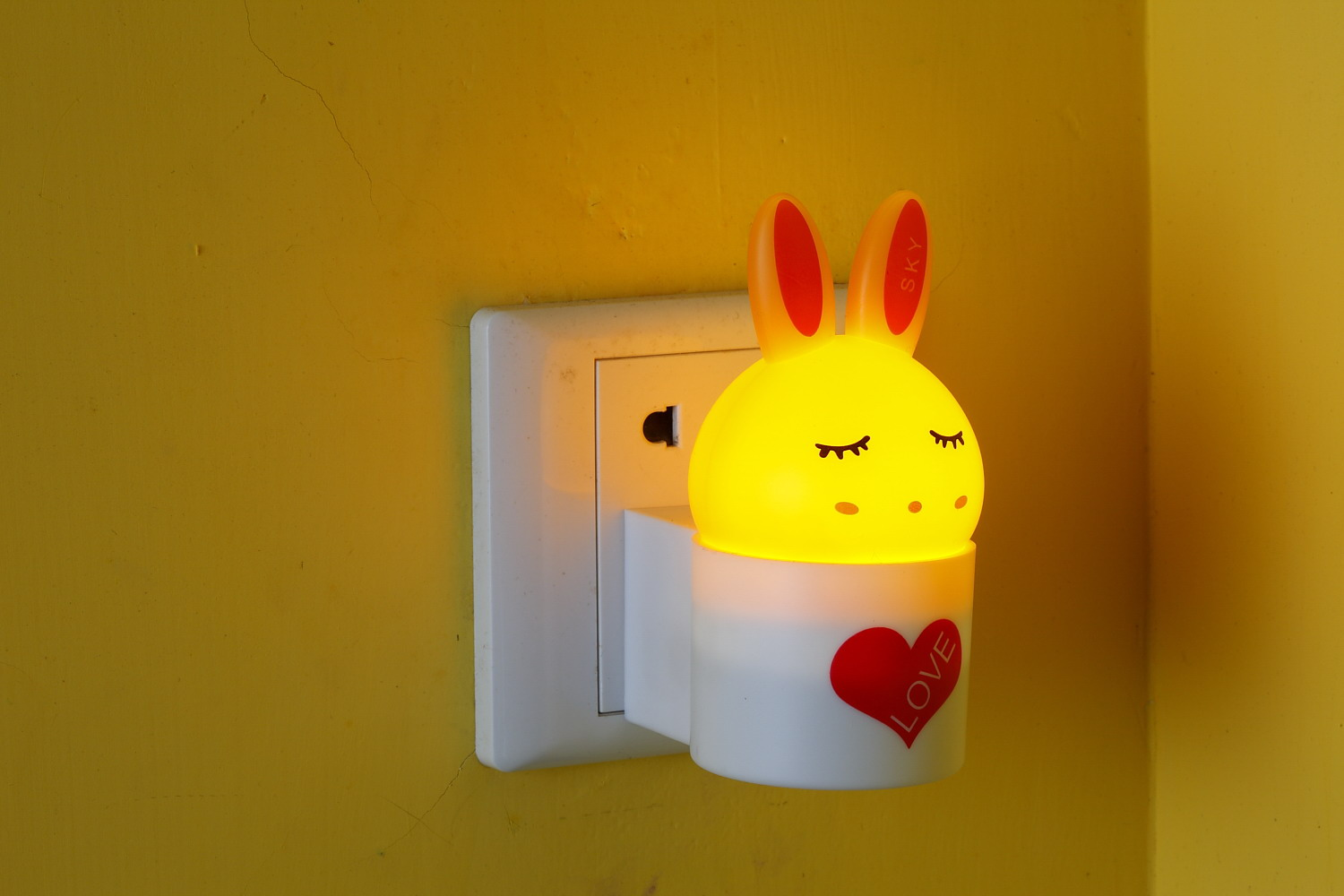 Childrens Nightlights Rabbit Baby Night Light 2016