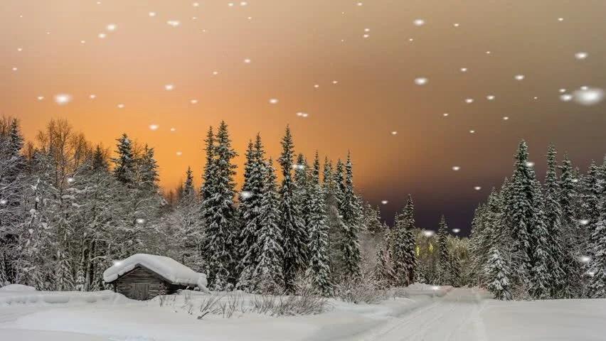 Free Snow Falling Animated Wallpaper 1 Jpg