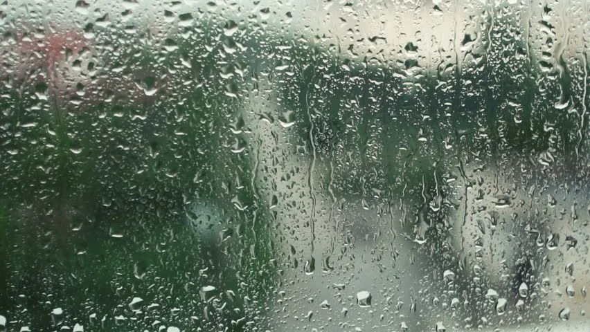 Water Falling Wallpaper Desktop Rain Falling On Glass During Rain Storm Stock Footage