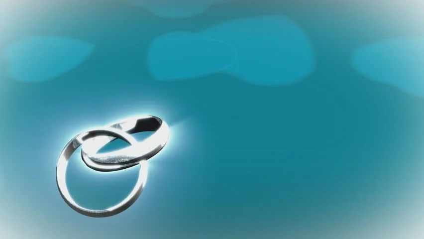 Ring Ceremony Hd Wallpaper Two Wedding Rings On Black Background 3d Stock Footage