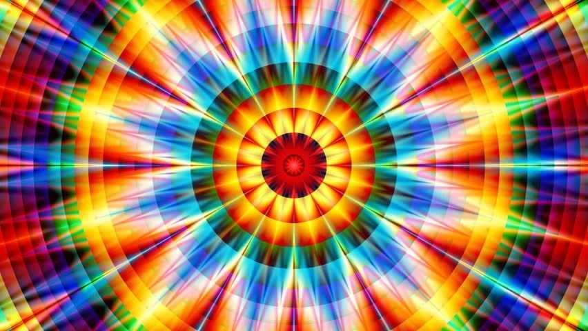 Geometric Wallpaper Hd High Definition 3d Animation Psychedelic Kaleidoscope