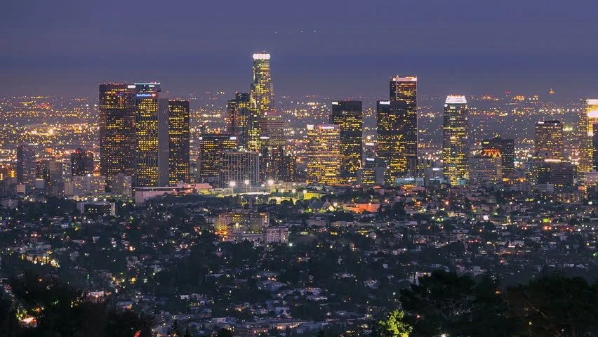 3d Moving Wallpapers City Lights Los Angeles City Changing From Day To Night Timelapse