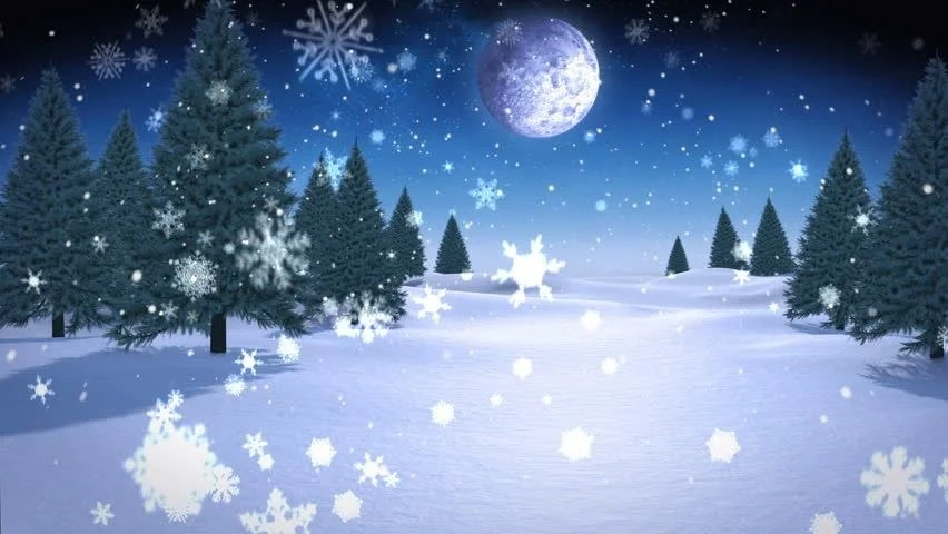 Animated Snow Wallpaper Digital Animation Of Christmas Presents Appearing In