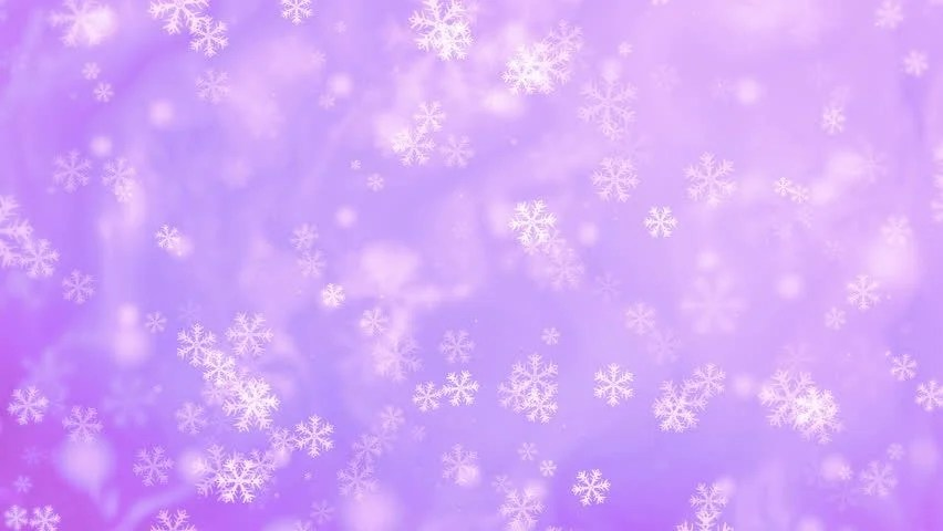 Free Animated Snow Falling Wallpaper 4k Abstract White Snowflakes Falling On A Half Pane Purple
