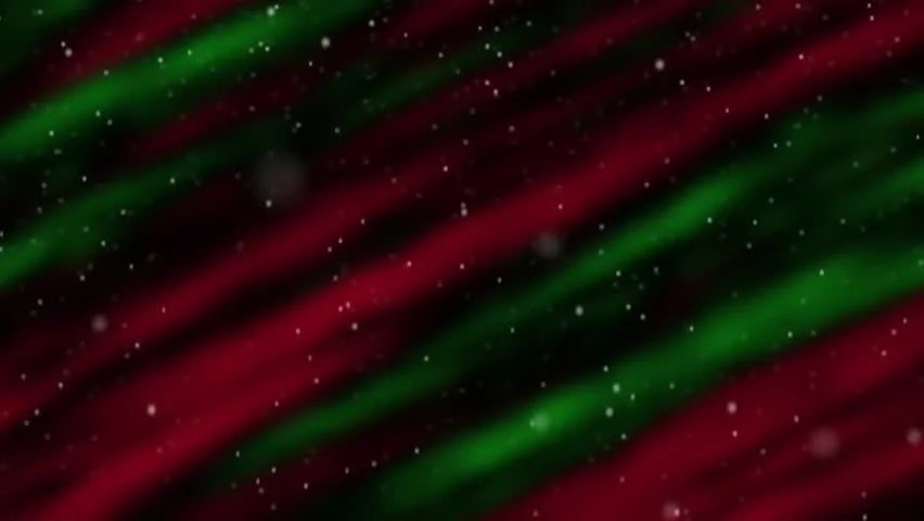 Falling Snow Wallpaper Widescreen Seamless Loop Features Colorful Red Holiday Christmas