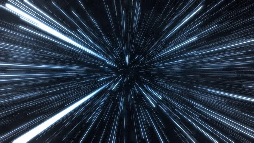 Hyperspace 3d Live Wallpaper Hyperspace Jump Stock Footage Video 8264476 Shutterstock