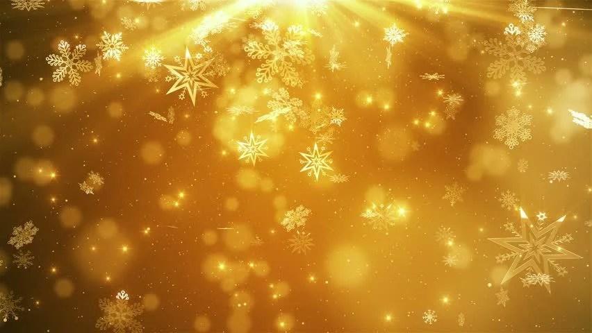 Falling Snow Wallpaper Note 3 Christmas Snowflakes Loop Gold Version Holiday