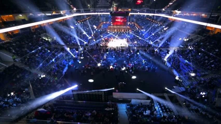 Niagara Falls Full Hd Wallpaper Moscow Russia December 12 2015 Illuminated Boxing