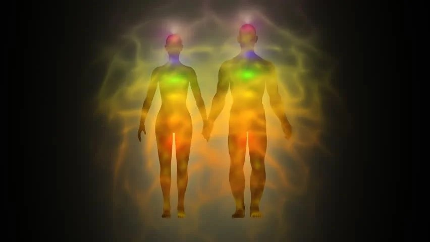 Shutterstock Hd Wallpapers Woman And Man Energy Body Aura Chakras Stock Footage