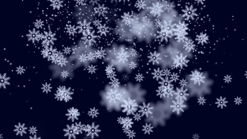 Falling Snow Live Wallpaper For Pc Falling Snow Flakes Animated Winter Background Loop Stock