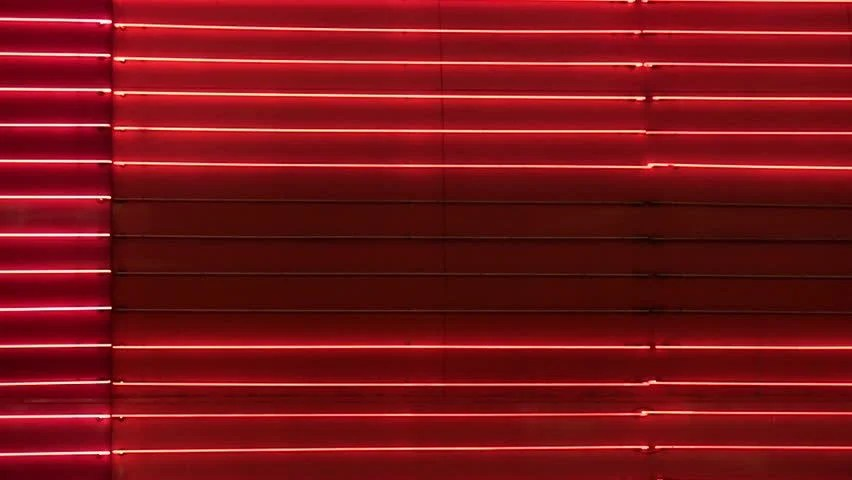 Arsenal Live Wallpaper Hd Blank Red Neon Wall Loop Stock Footage Video 3950933