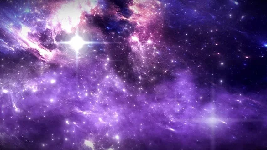 Animated Stars Wallpaper Space Flight Through Nebula Space Travel Space Animation