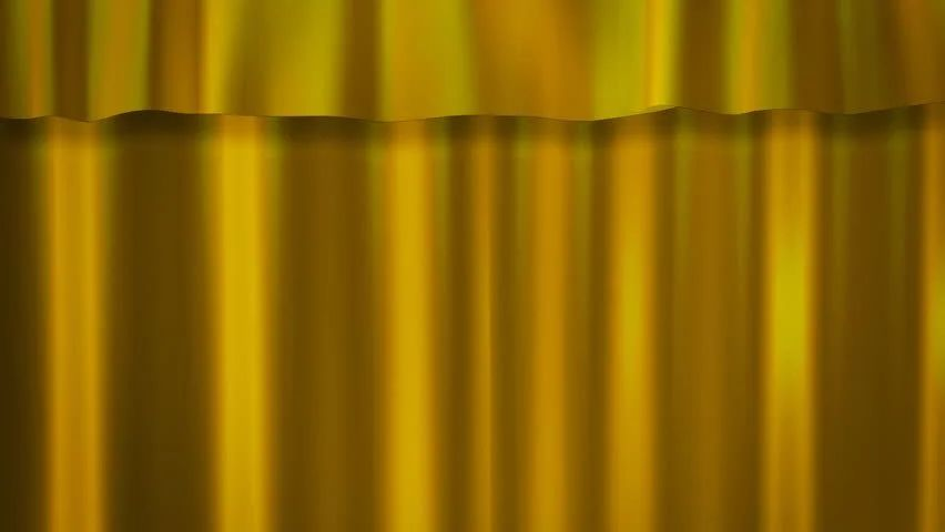 Gold curtains stage stock footage video 1807073 shutterstock