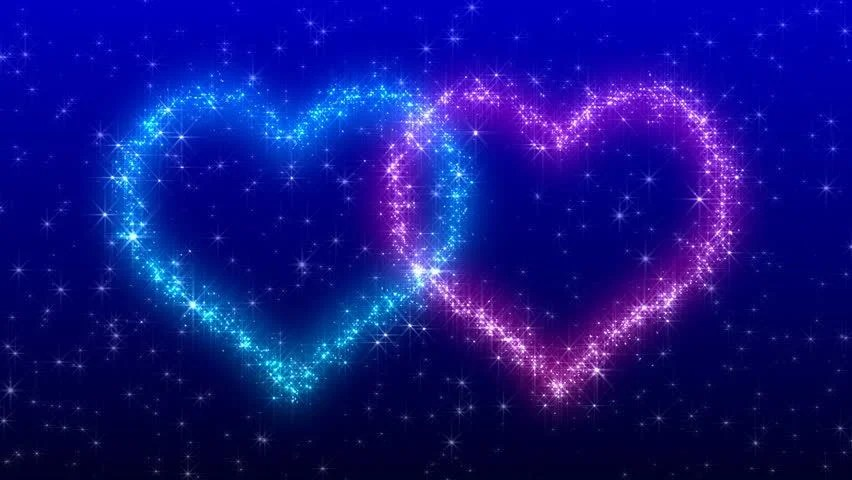 Falling Stars Gif Wallpaper Glitter Heart Stock Footage Video 494470 Shutterstock