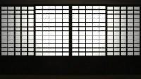 Japanese Style Sliding Door Transition Stock Footage Video ...