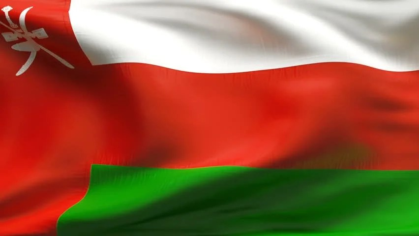 Shutterstock Wallpaper 3d Creased Textured Oman Flag In Slow Motion With Visible