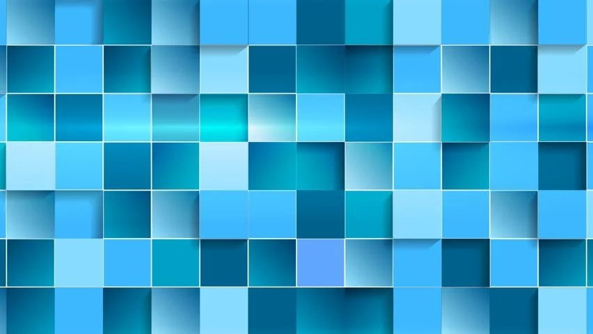 Bright Wallpapers For Iphone 6 Bright Blue Squares Geometric Tech Background Video