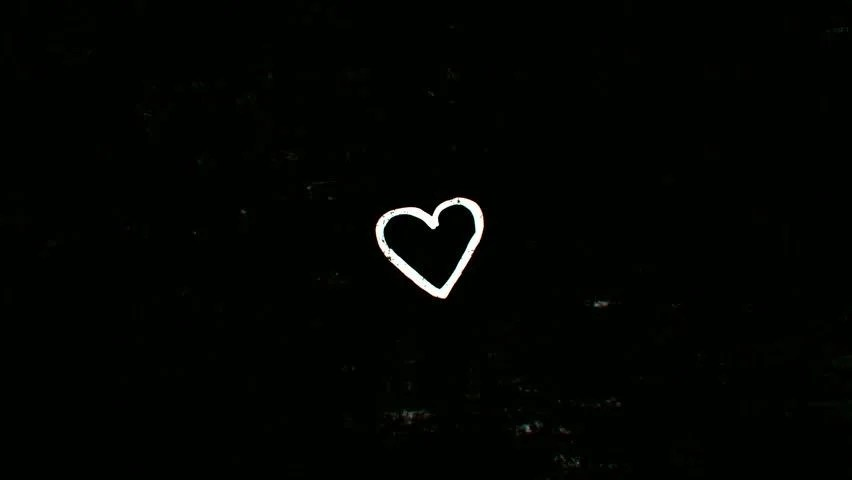 Cute Kid Couples Wallpapers Black Background With White Hearts Www Imgkid Com The