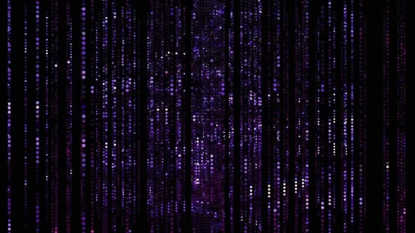 Matrix Falling Code Wallpaper Download Animation Of Seamless Binary Data Code In Space On Black
