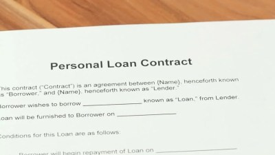Personal loan definition/meaning