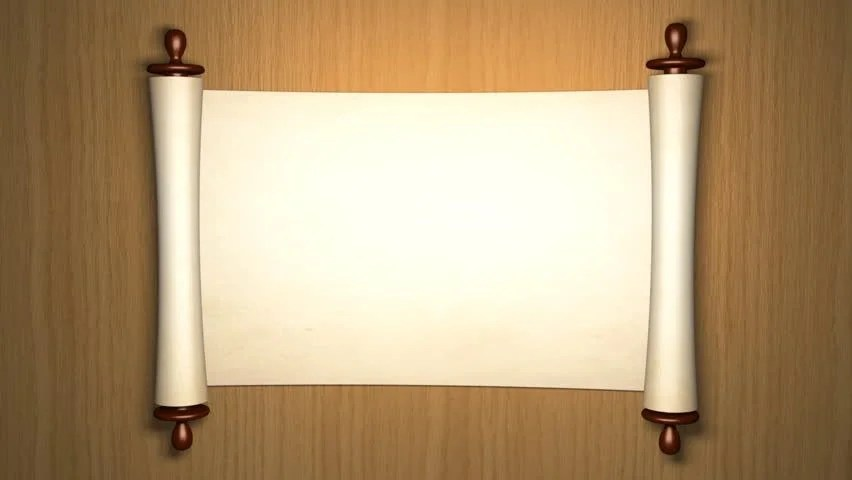 3d Candle Live Wallpaper Scroll Of Old Parchment 3d Animation Stock Footage Video
